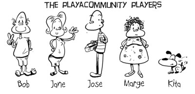 Playacommunity Players Comic Strip
